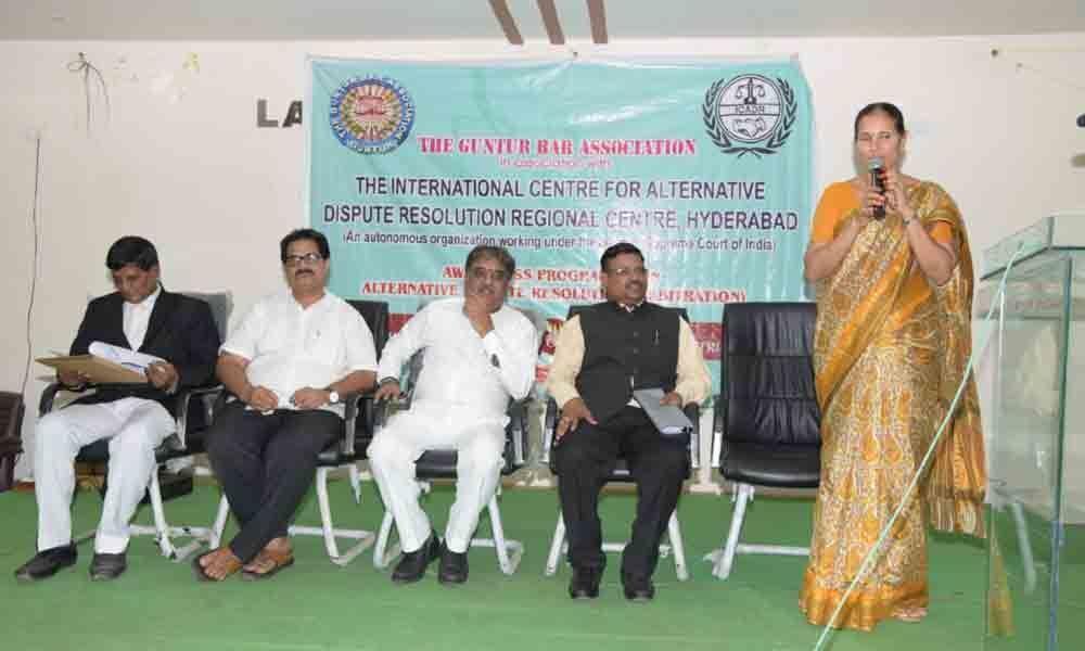 Create awareness among litigants on Alternative Disputes Resolution in Guntur