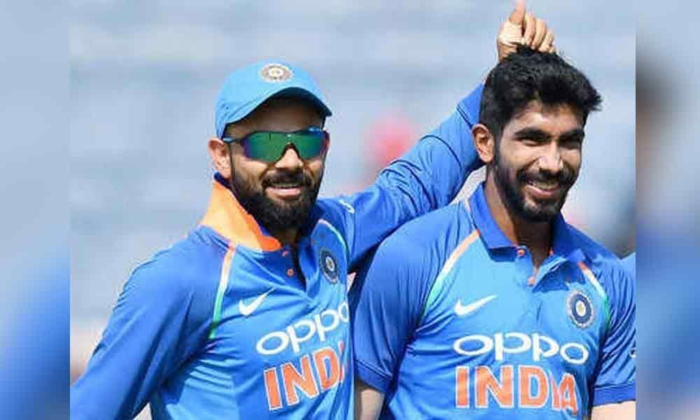 ICC ODI Rankings: Virat Kohli, Jasprit Bumrah stay on top