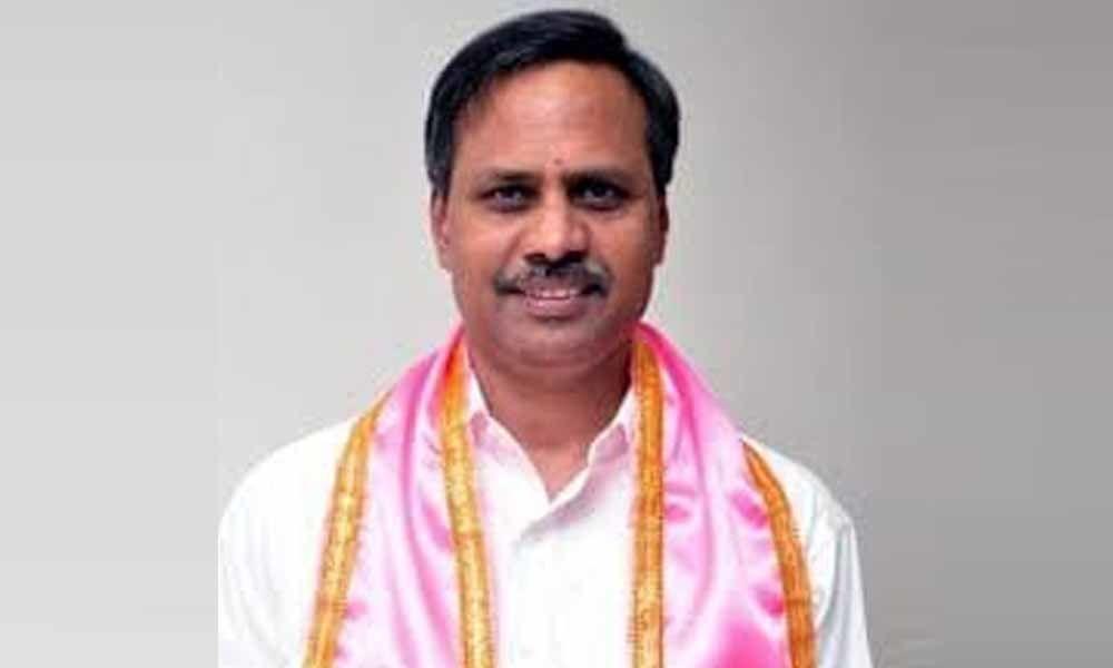 TRS leader Palla Rajeshwar Reddy complained DGP, over baseless land allegations against him on Social media