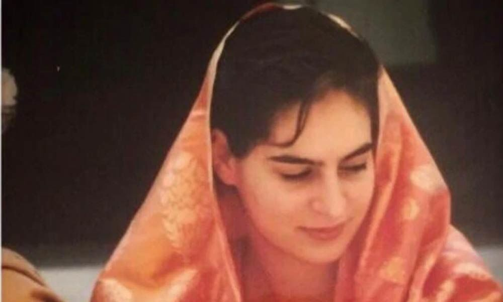 Priyanka Gandhi joins #SareeTwitter with wedding day throwback picture