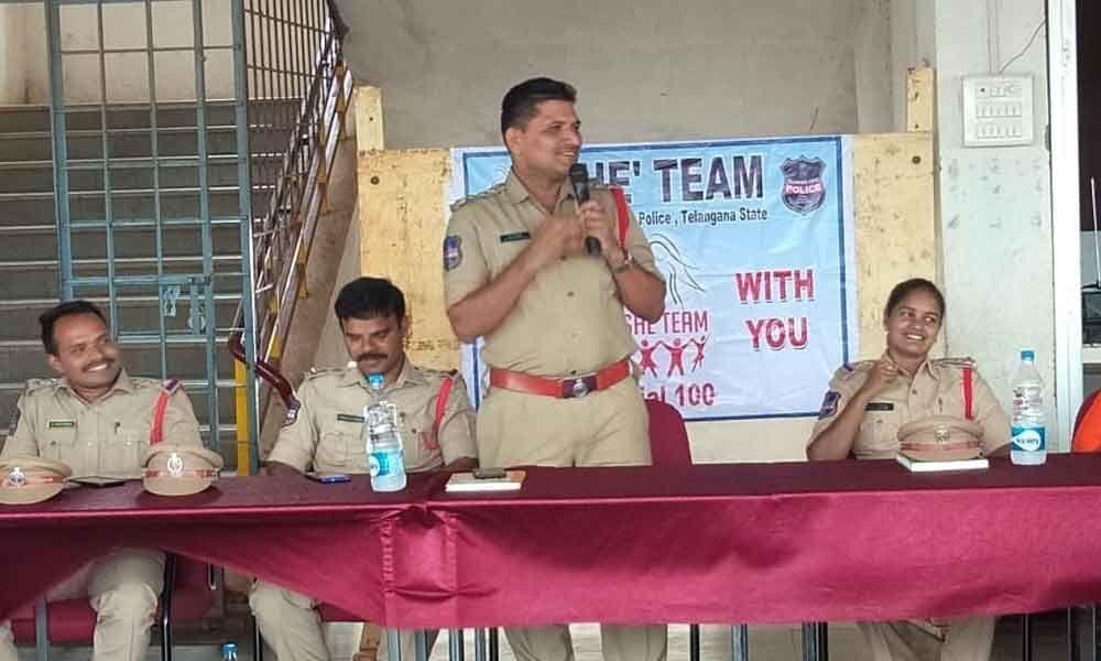 SHE teams conduct awareness meet
