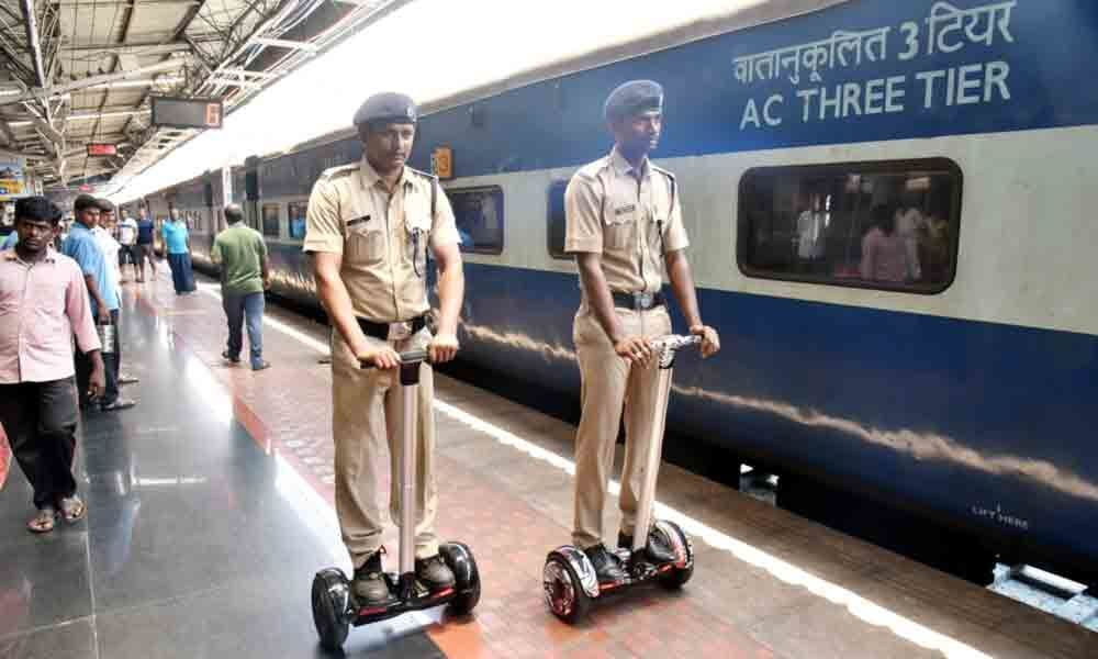 Visakhapatnam: Railway Protection Force to boost patrolling with use of segways