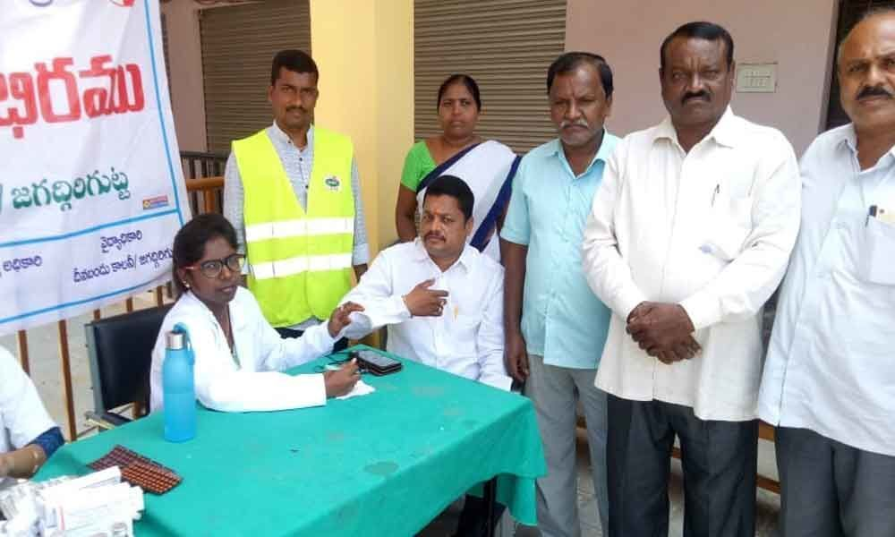 GHMC entomology wing holds health camp