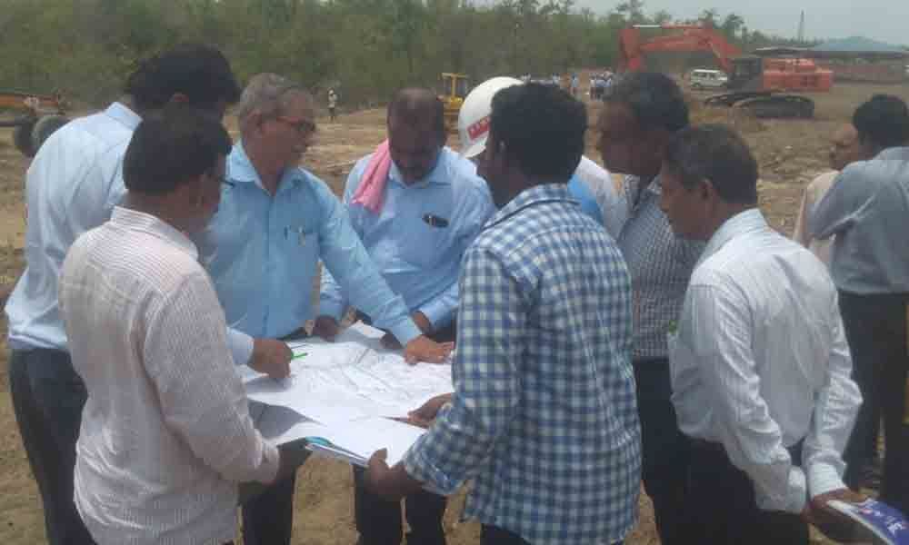 Work at Kistaram open cast mines begins in Sathupalli