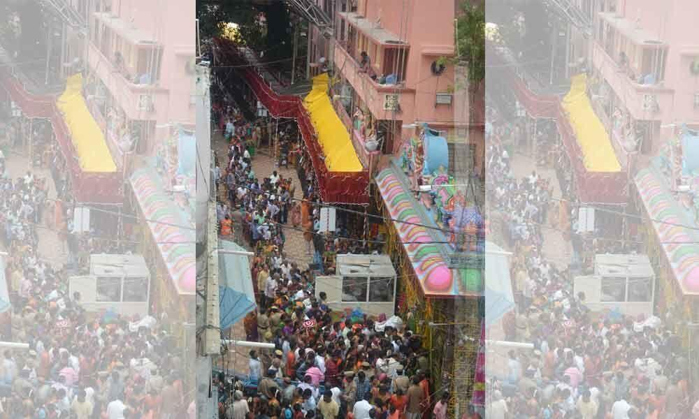 Traffic curbs imposed for Mahankali Jathara