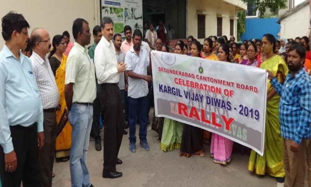 Secunderabad Cantonment Board celebrates Kargil Vijay Diwas