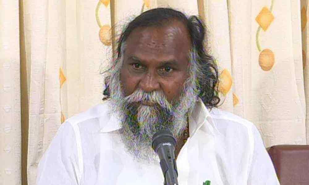 Jagga Reddy to stage hunger strike on Aug 10