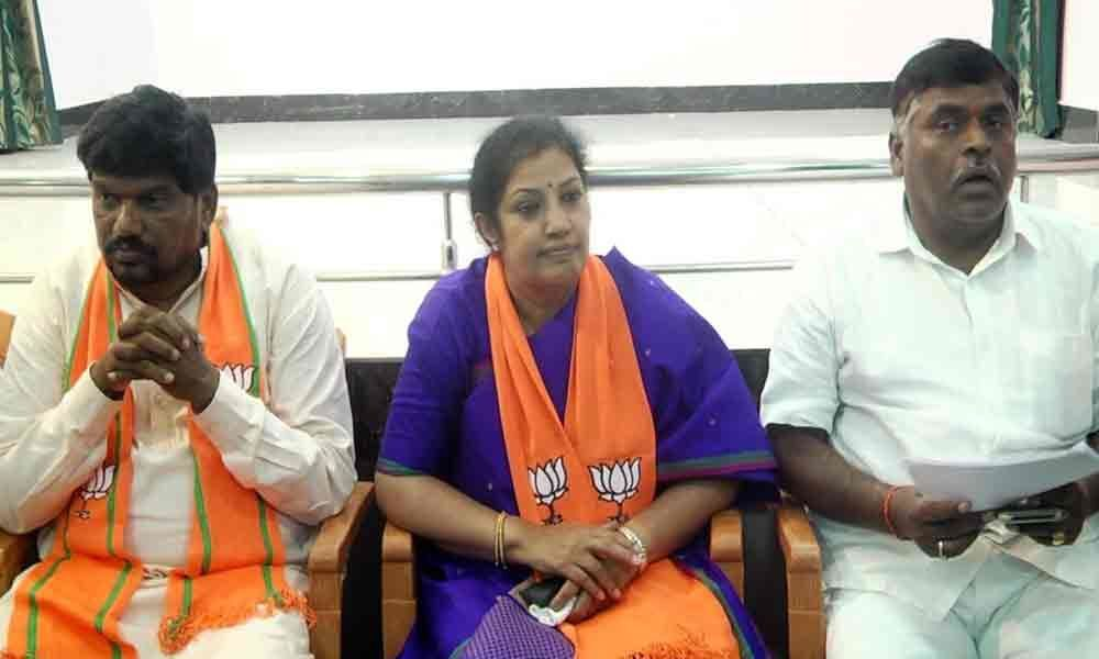 CMs alone cannot decide on sharing of water: Purandeswari