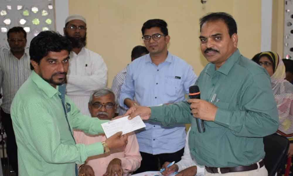 ESS beneficiaries get loans at Haj House