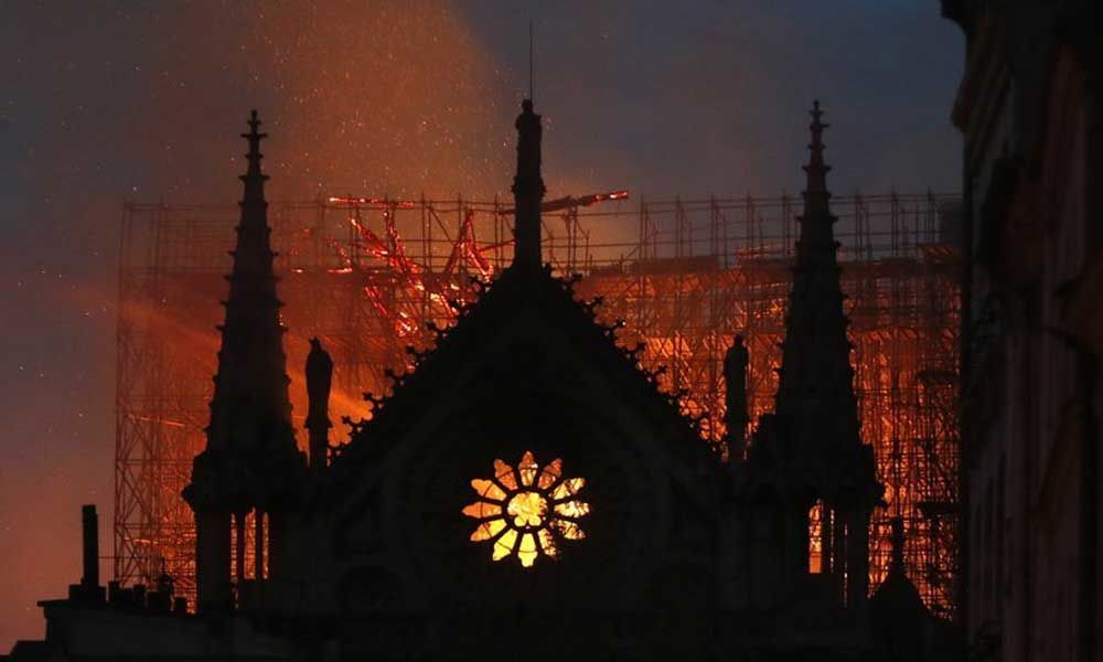 Lead leak from Notre Dame cathedral fire prompts lawsuit