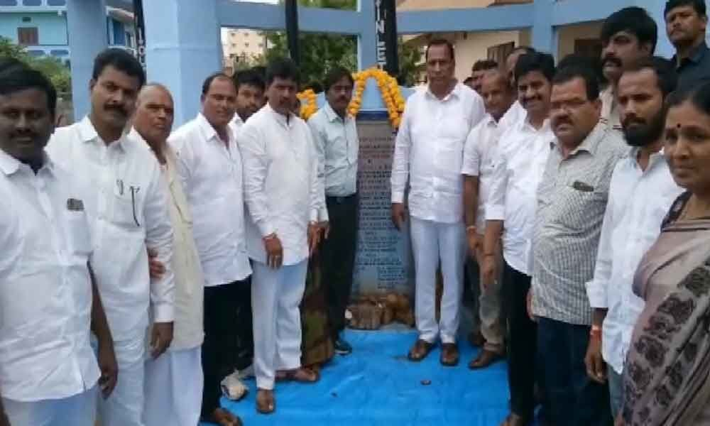 Malla Reddy inaugurates 8 drinking water reservoirs