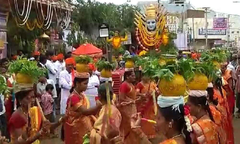 Bonalu fest celebrated with religious fervour