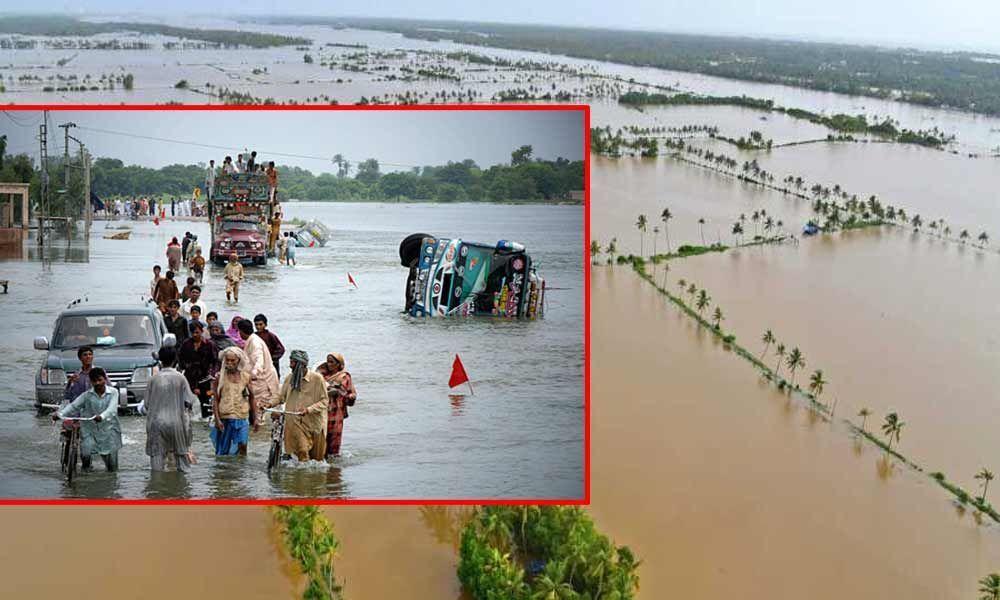 16 people killed in Pakistan floods