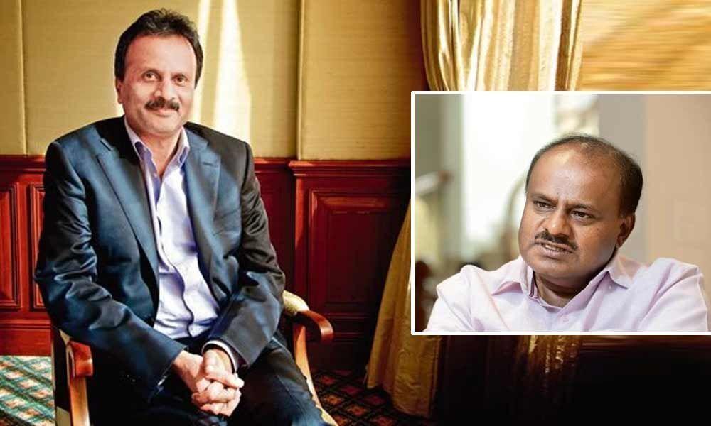 IT department harassed CCD Owner: HD Kumaraswamy