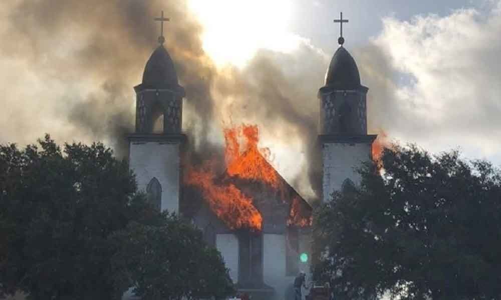 Fire reduces historic 124-year-old Central Texas church to ashes