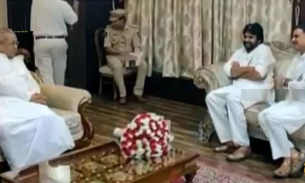 Pawan Kalyan meets AP Governor