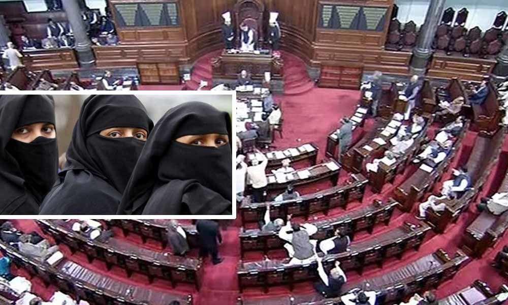 Bill criminalising instant triple talaq passed in Parliament