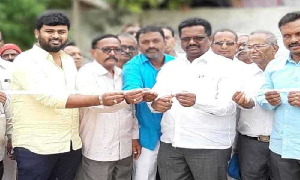 Corporator Pannala inaugurates park