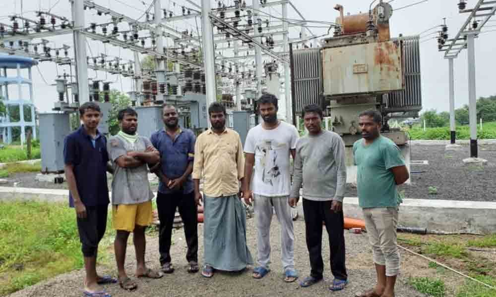 Karimangar: Farmers protest at substation as village faces outage for five days