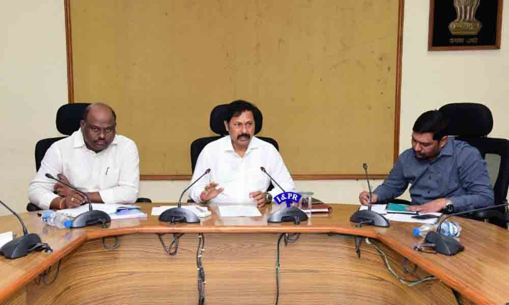 Take steps for procurement of foodgrains in Kharif: Joint Collector GV Shyam
