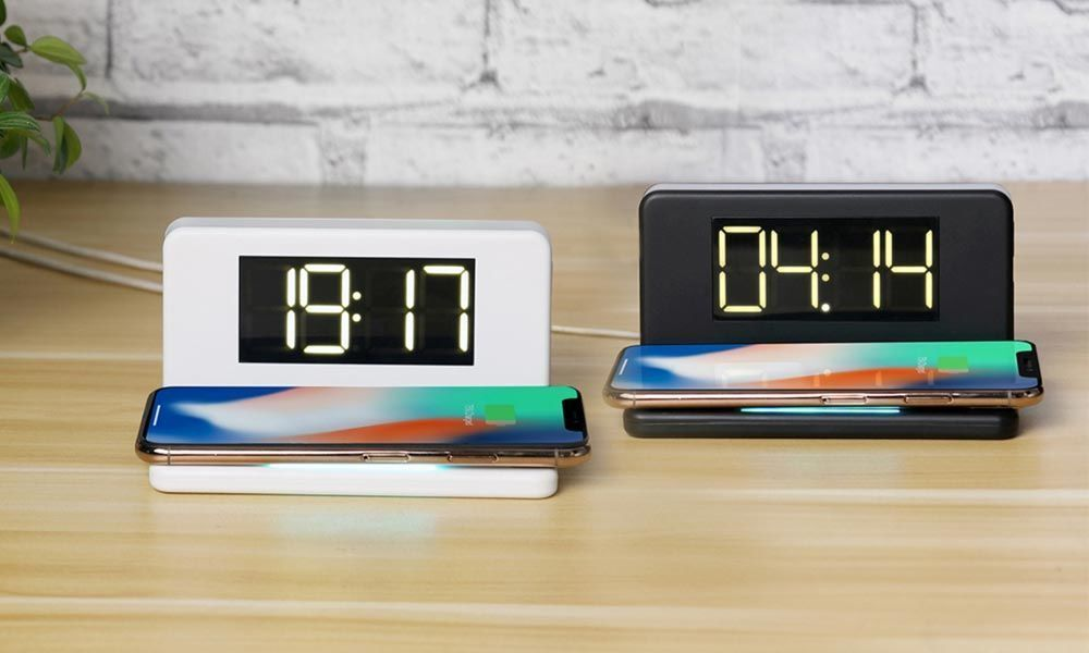 Portronics Brings Freedom 4 - A Smart Wireless Mobile Charger with Alarm Clock & LED Lamp