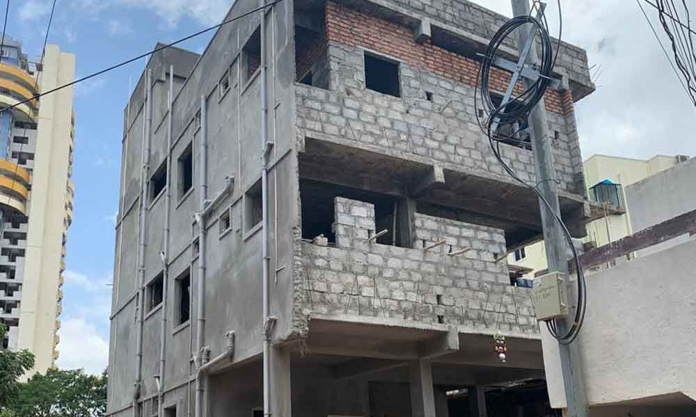 Residents irked over illegal constructions