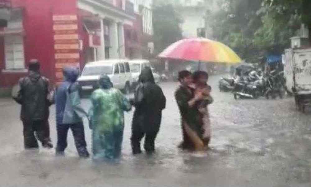 6 dead as heavy rain hits Vadodara; airport shut, trains cancelled