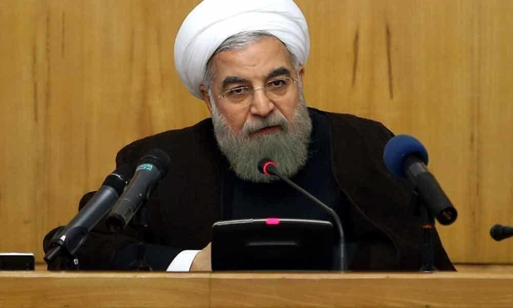 Iran president says Zarif sanctions show US afraid of top diplomat