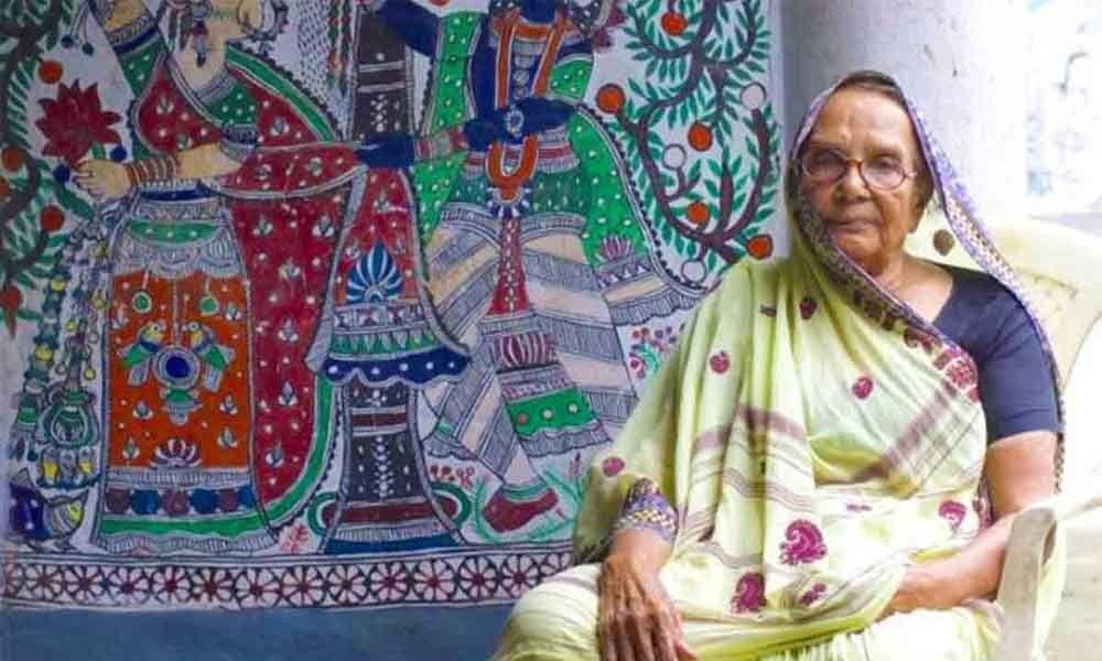 Madhubani art veteran Karpuri Devi dies at 94