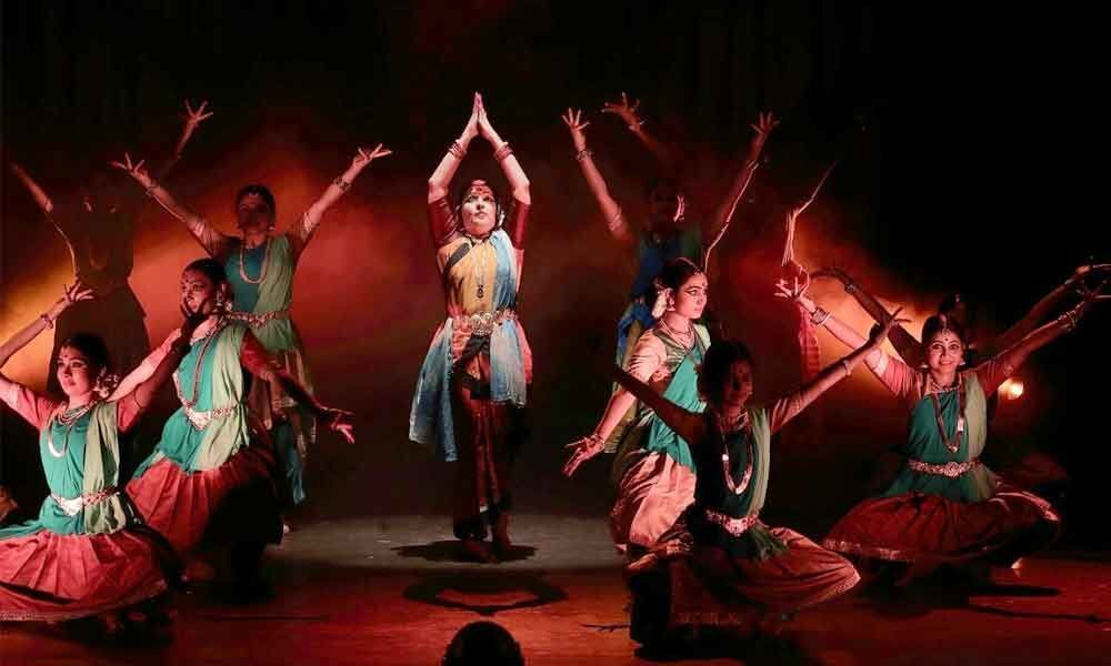 When Bharatanatyam is blended with technology