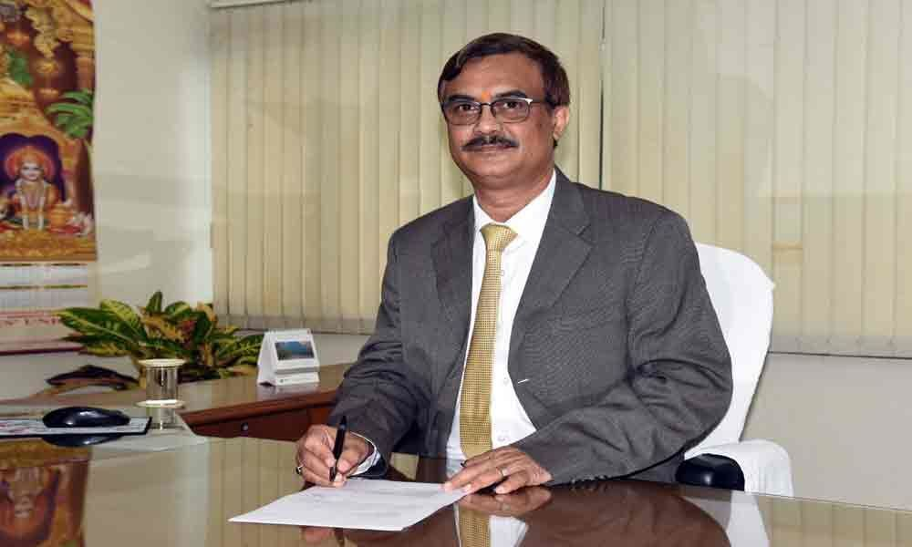 DK Mohanty assumes charge as RINL-VSP Director