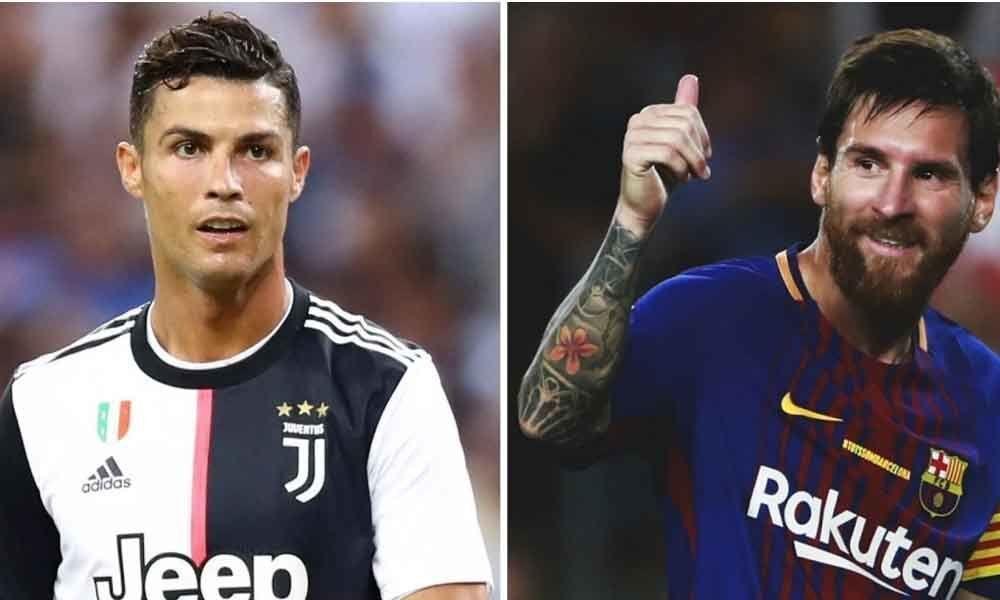 Ronaldo, Messi nominees for Best FIFA Men