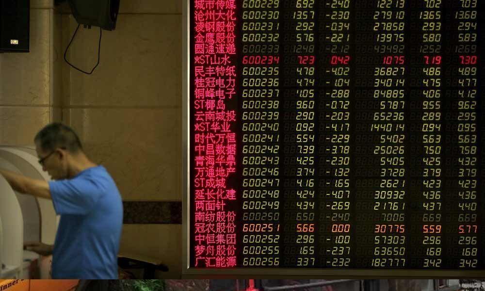 Global stocks plunge on US-China trade war worries