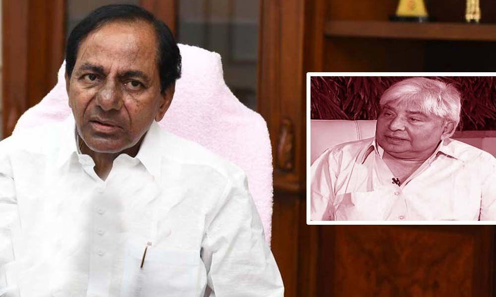 CM KCR condoles demise of film actor Devadas Kanakala