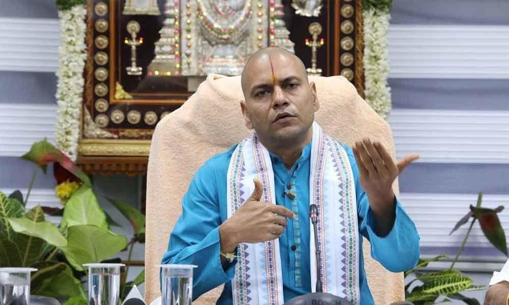 Arjitha Seva Tickets : No fraud possible through electronic dip: TTD EO Anil Kumar Singhal