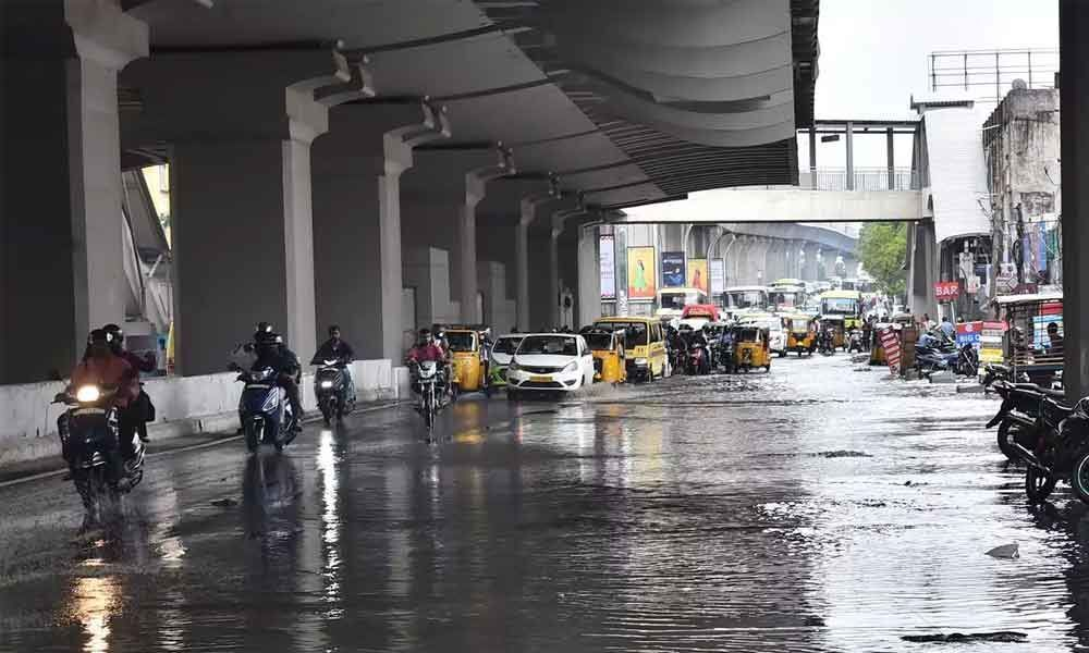 Light to Moderate showers predicted in Hyderabad till Aug 6