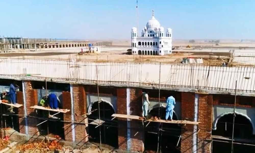 Pakistan completes 90 per cent work on Kartarpur Corridor