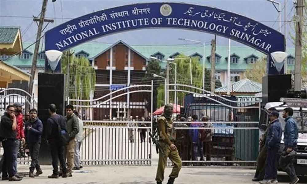 Suspension of Classes at NIT in Srinagar: South Indian students in grip of panic