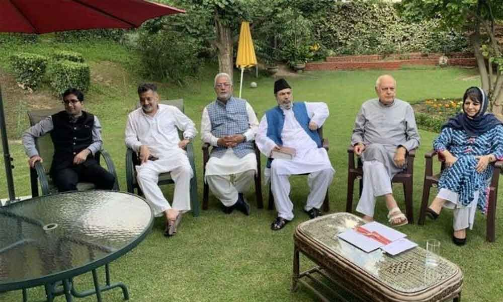 Parties promise to protect J&K special status