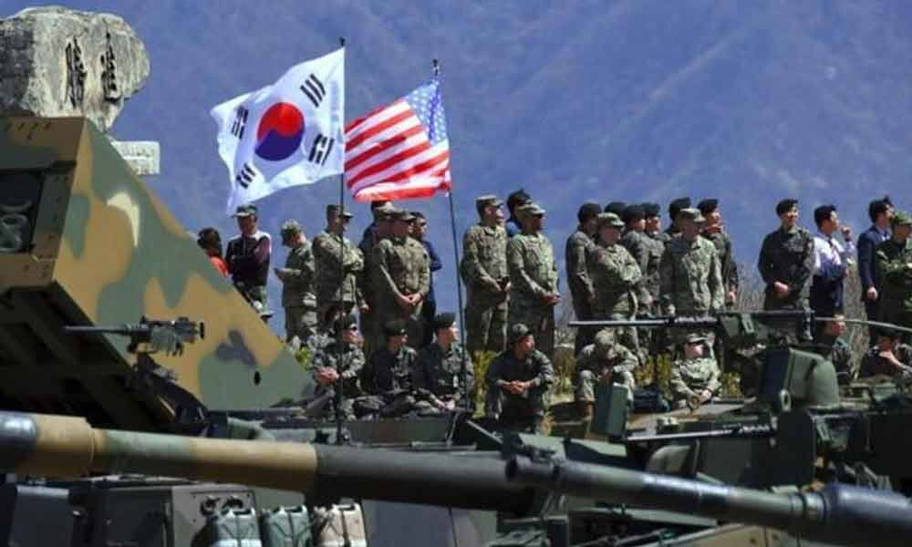 South Korea, US begin joint military drills
