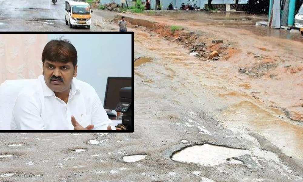 Take up road repair works on war footing basis: Mayor tells officials