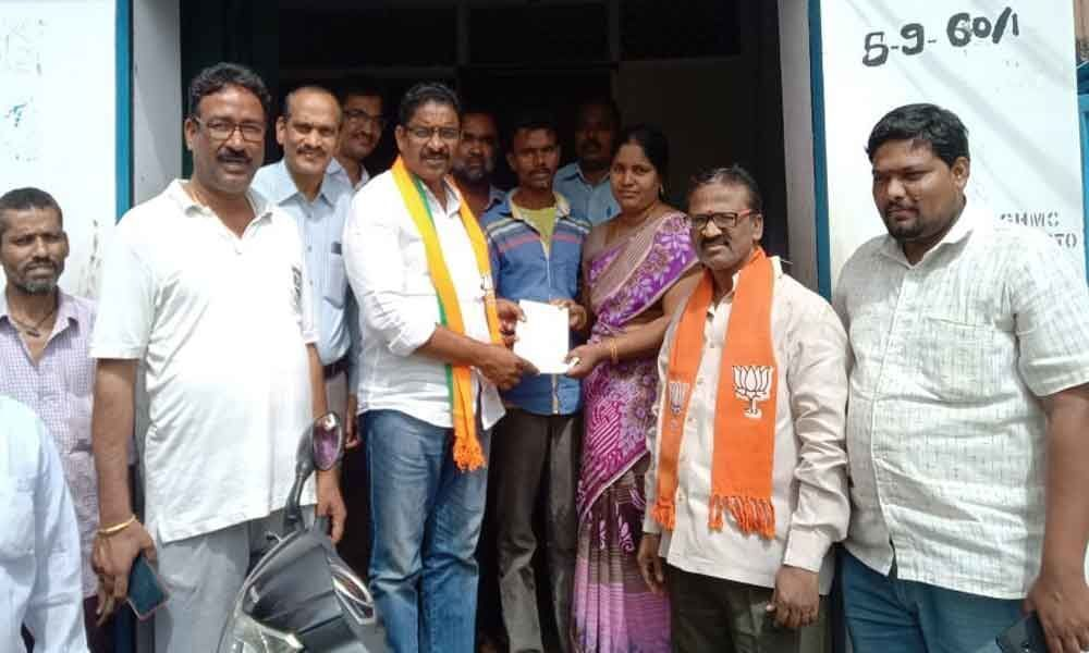Good response to membership drive : BJP