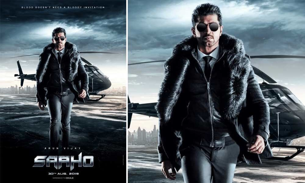 Arun Vijays First Look From Saaho Out