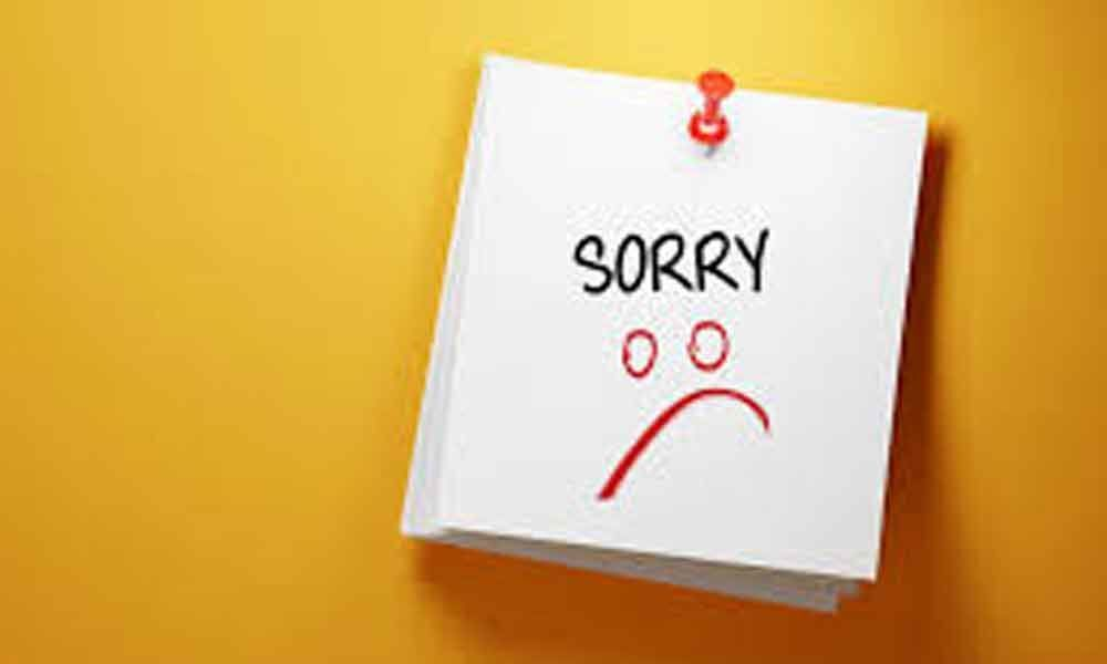 Are you over Apologizing for everything? How to overcome this habit