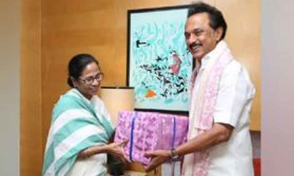 Mamata Banerjee meets MK Stalin in Chennai