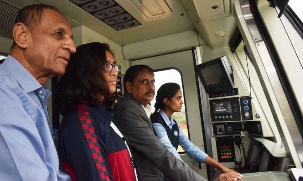 Metro crown jewel of twin cities: ESL Narasimhan