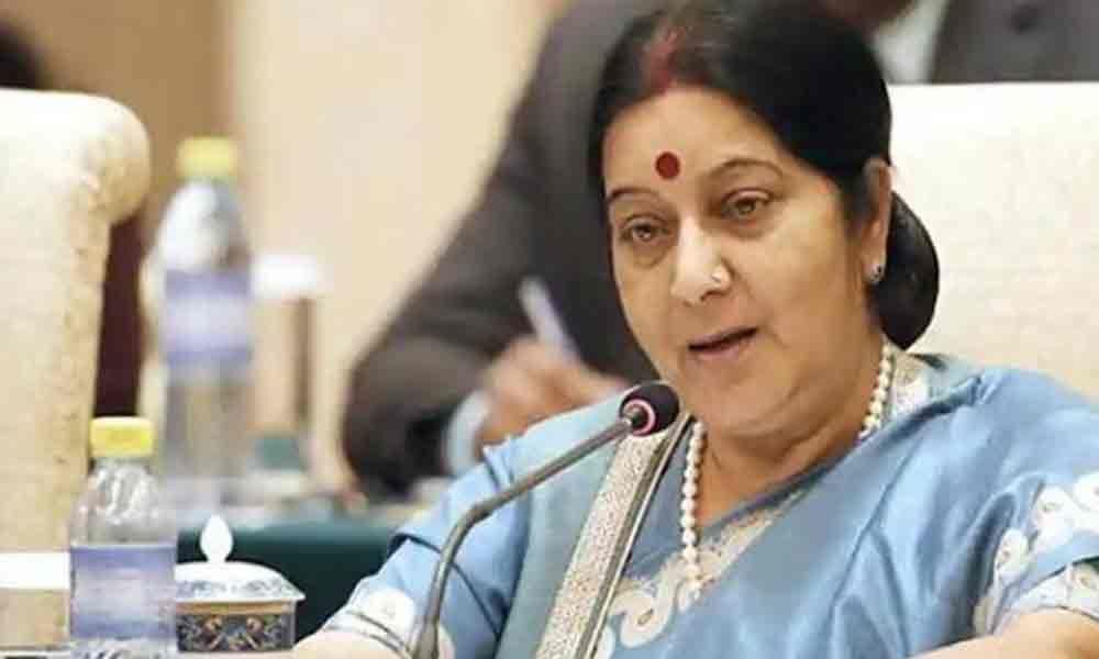 Sushma Swarajs last tweet hours before she passed away