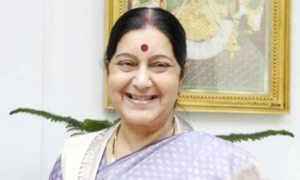 Tributes pour in for Sushma Swaraj on social media