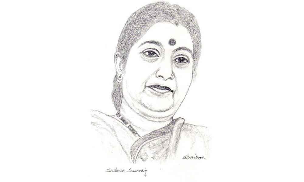 Sushma Swaraj, Chinnamma of Telangana people