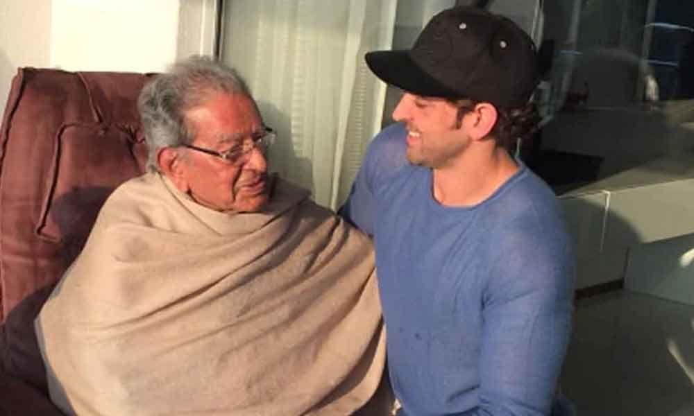 Hrithik Roshans grandfather, filmmaker J Om Prakash passes away